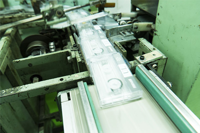 audio cassette packing machine