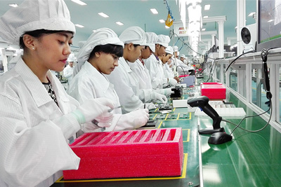 smartphone production