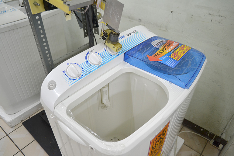 special inspection for washing machine
