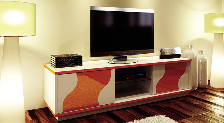 wooden led tv stand indonesia
