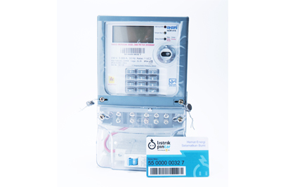 kwh meter with card