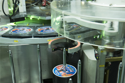 optical disc printing machine